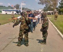 Armada Argentina realiza simulacro de emergencia nuclear