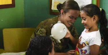 U.S. Army Reserve, Ministry Of Health Partner To Bring Medical Care To Cortés