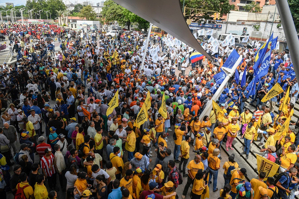 Venezuela: Report Reveals Increase in Public Protests in October
