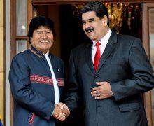 Nuevo ministro de gobierno de Bolivia cree que Morales y Maduro terminarán presos