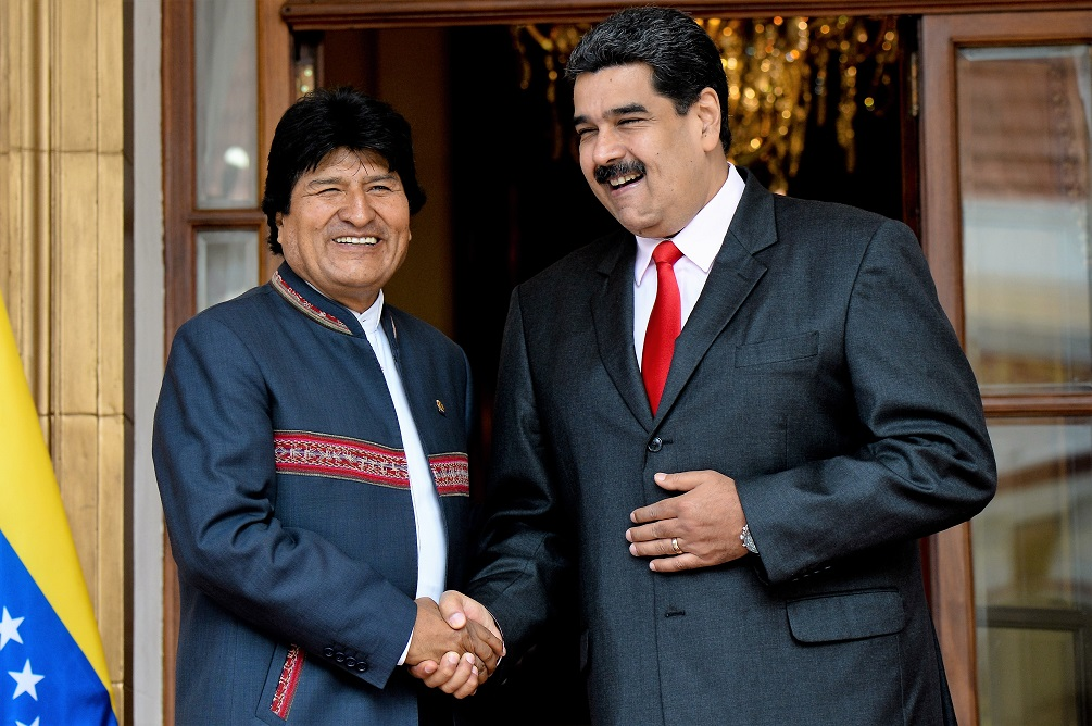 New Bolivian Interior Minister Believes Morales And Maduro Will End Up In Jail