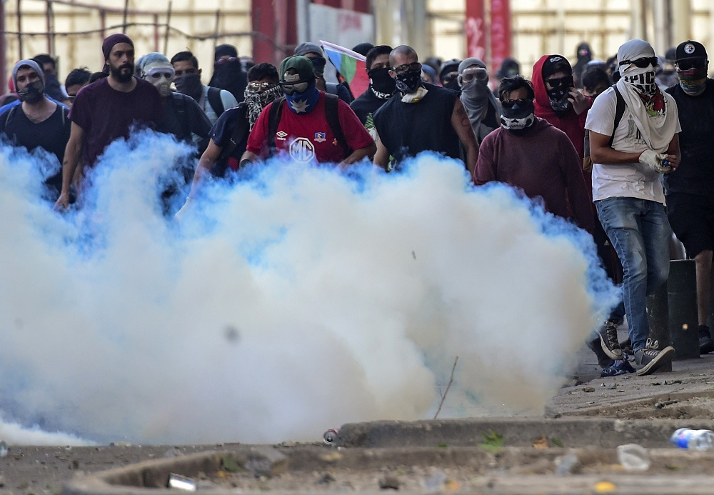 Twitter Analysis Reflects Venezuelan, Cuban, Nicaraguan Intervention in Chile's Protests