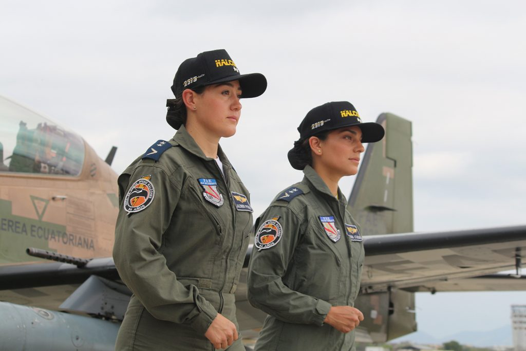 First Female Fighter Pilots Graduate in Ecuador
