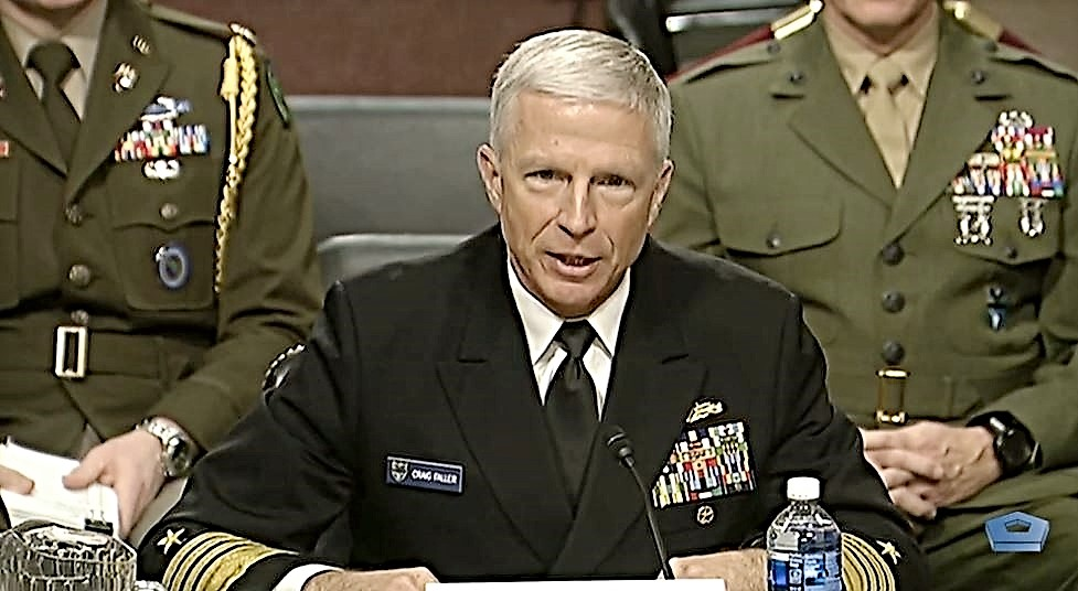To Counter External Threats, Admiral Faller Stresses Need for Partnerships, Security Cooperation Before Senate Armed Services Committee