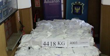 Uruguay Seizes Largest Cocaine Shipment Ever