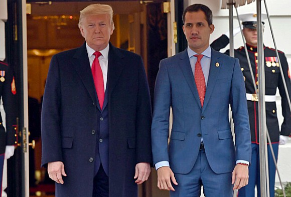 Venezuelan Interim President Visits Trump at White House
