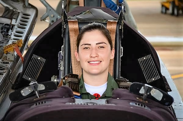 Air Force Academy Has First Female Flight Instructor for T-27 Tucano