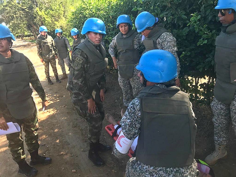 First Colombian Female Soldier Takes Part in Peacekeeping Mission in Western Sahara