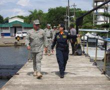 Primeira mulher no comando de uma estação de guarda-costas na Colômbia