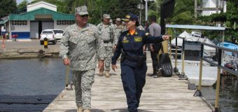 First Woman Leading Coast Guard Station in Colombia