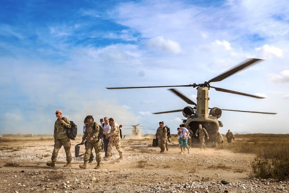 Ejercicio Vita: JTF-Bravo y socios colombianos realizan entrenamiento de interoperabilidad en La Guajira