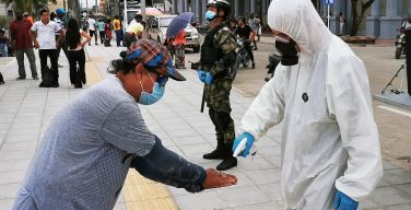 Colombian Armed Forces Stand Up Field Hospitals to Battle Coronavirus