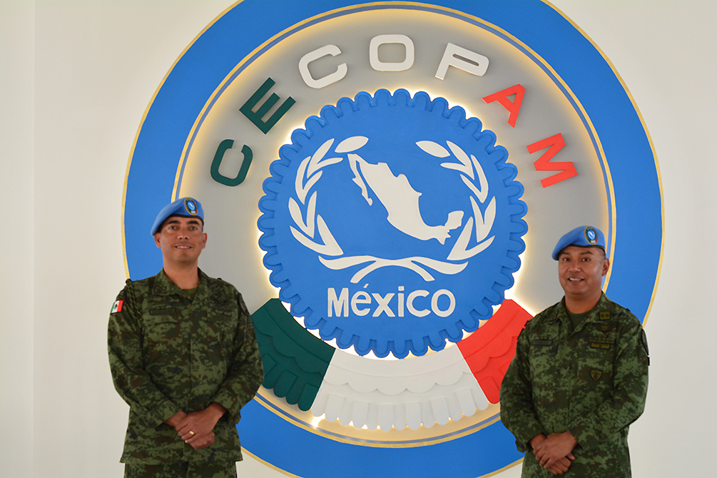 Mexico Opens Joint Training Center for Peacekeeping Operations