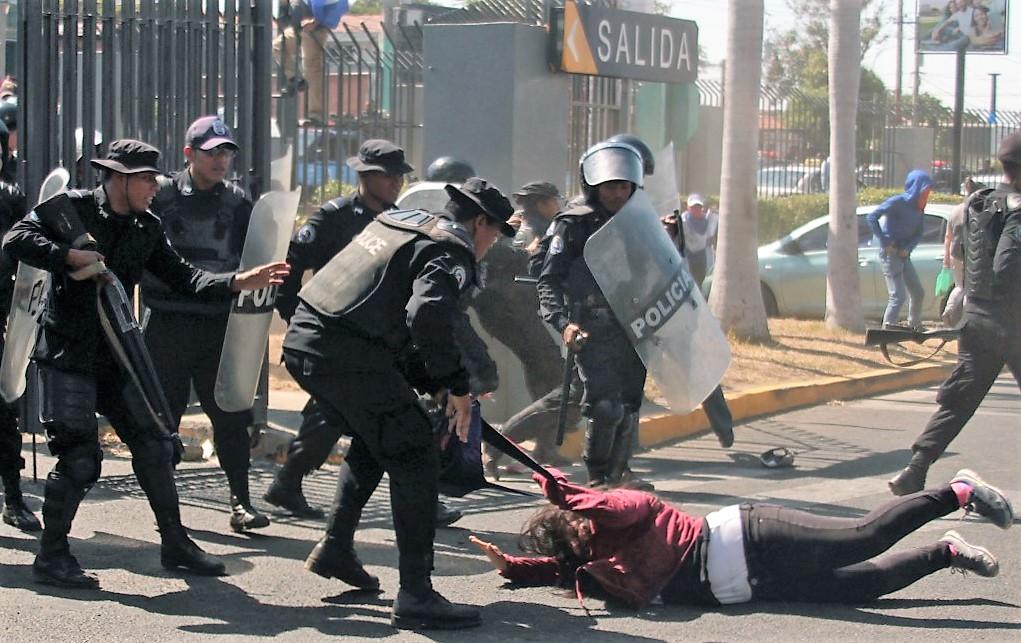 EE. UU. sanciona a la Policía de Nicaragua