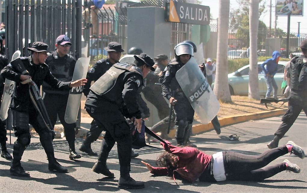 US Sanctions Nicaraguan Police