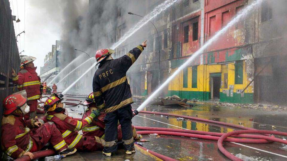 SOUTHCOM Provides Equipment to Peruvian Volunteer Firefighters