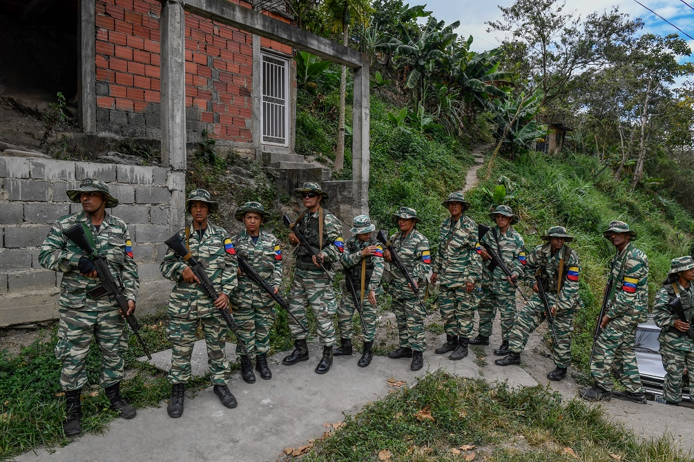 Maduro's Militia as Official Branch of the Armed Force is Unconstitutional