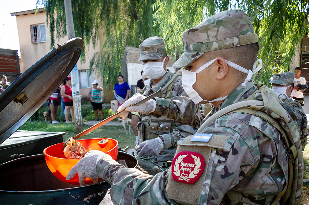 Argentine Armed Forces Join the Fight Against Coronavirus