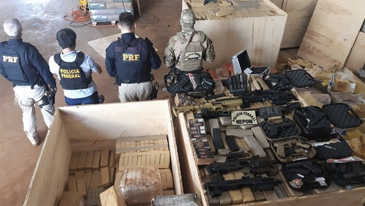 Brazilian Armed Forces Provide Continuous Support to Fight Against Narcotrafficking