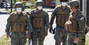 Fuerzas Armadas de Chile entran en acción para combatir el coronavirus