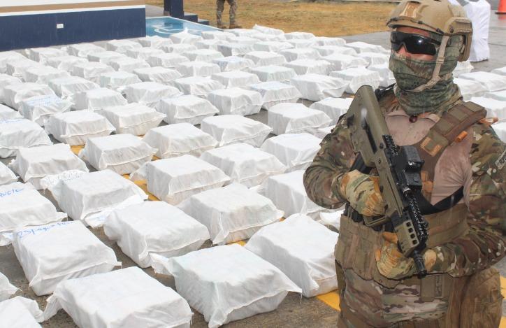 Colombian-Panamanian Combined Operation Strikes Narcotrafficking