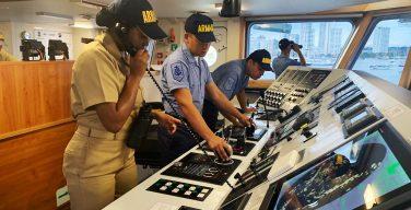Female Commander Seizes a Ton of Cocaine