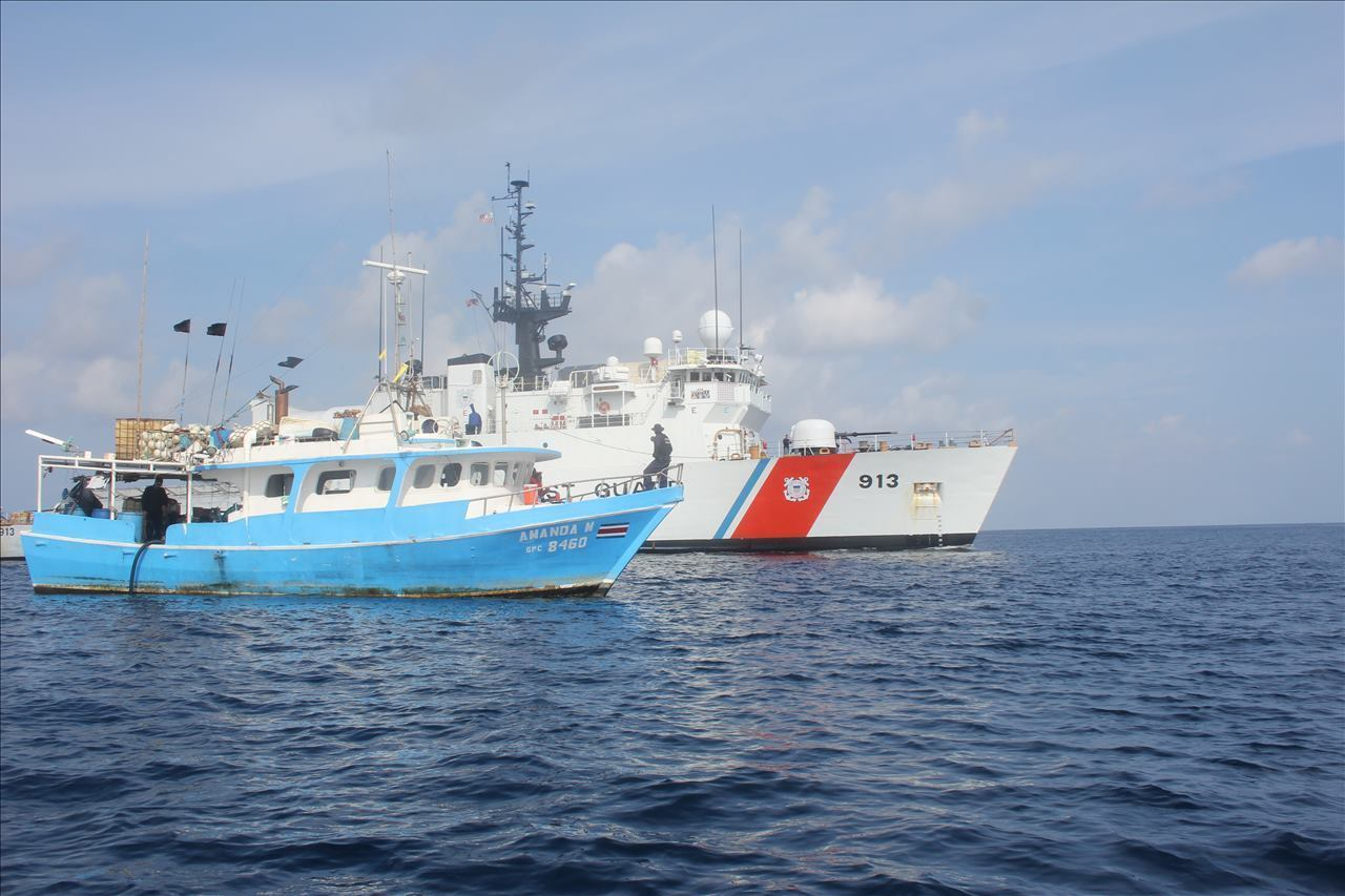US Coast Guard, Costa Rican Authorities Seize 771 kg of Cocaine