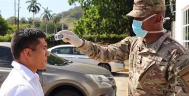 Fuerzas de seguridad de Panamá se unen a la lucha contra el COVID-19