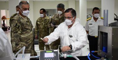 Marinha de Guerra do Peru desenvolve respiradores artificiais diante da emergência do coronavírus
