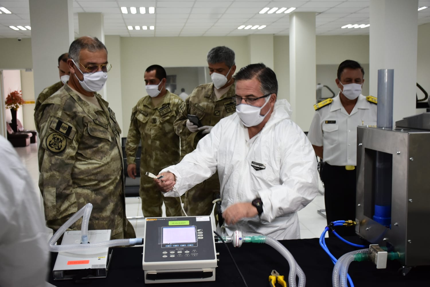 Peruvian Navy Develops Ventilators amid Coronavirus Emergency