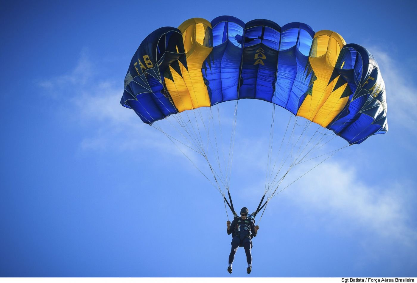 Brazilian Air Force Skydiving Team Stands Out in Latin America