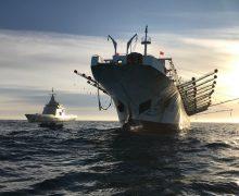 Marinha Argentina captura um navio chinês que pescava ilegalmente