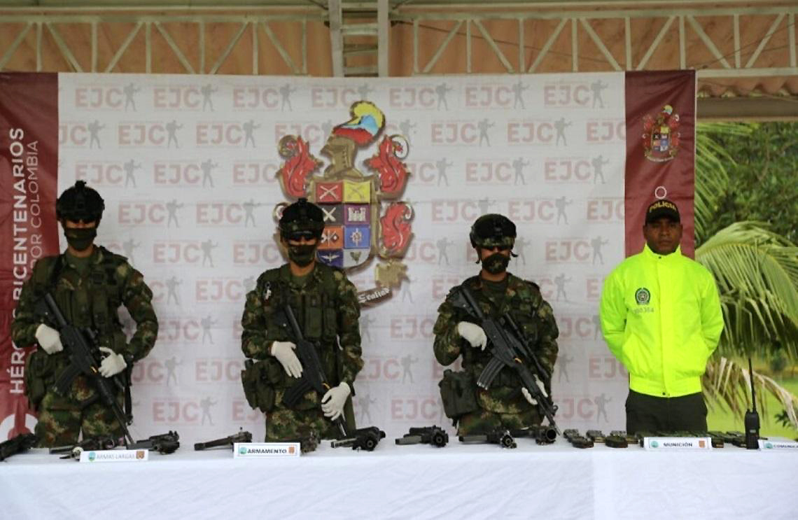 Misión antidrogas colombiana, implacable en la región del Cauca