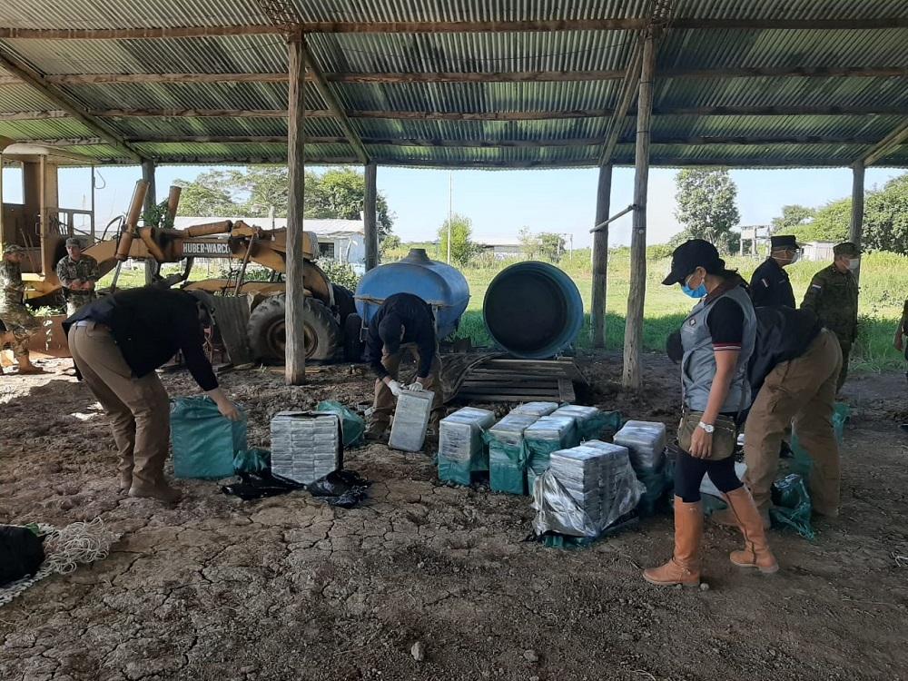 Paraguai aumenta a luta contra o narcotráfico