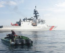 Coast Guard Seizes 1,406 Kilos of Cocaine from Smuggling Vessel off Central American Coast