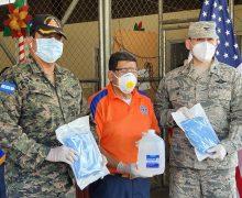 Cooperação de Segurança da Embaixada dos EUA prestam assistência a Honduras durante a pandemia da COVID-19
