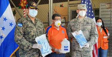 SOUTHCOM, US Embassy Security Cooperation Office, Assist Honduras During COVID-19 Pandemic