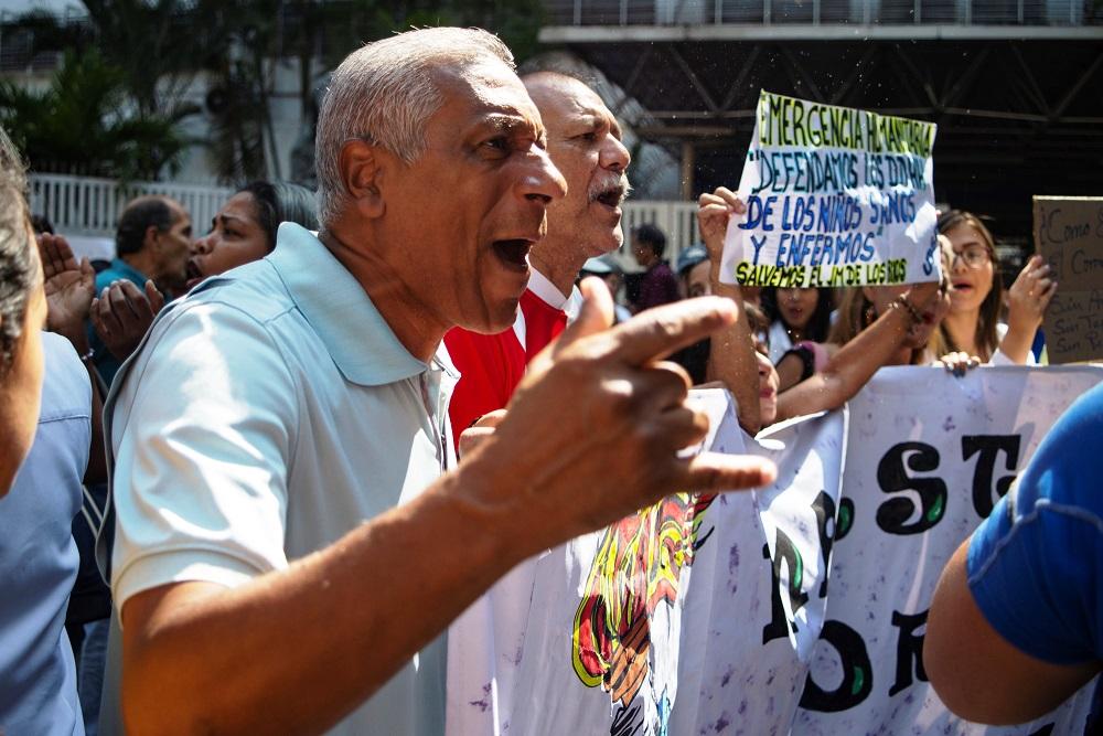 Confusão e prisões na Venezuela devido à pandemia