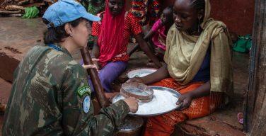 Oficial brasileña recibe premio de la ONU