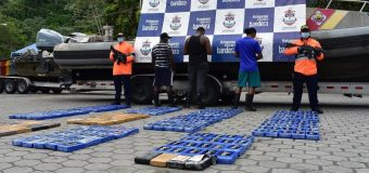 Colombian Navy Seizes $9 Million Worth of Cocaine
