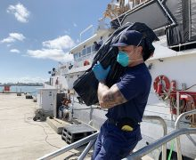Coast Guard Offloads $5.6 Million in Seized Cocaine