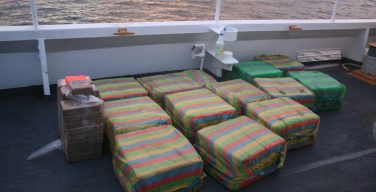54-Year-Old Coast Guard Cutter Seizes 1,090 Lb of Suspected Cocaine from Smuggling Vessel off Central American Coast