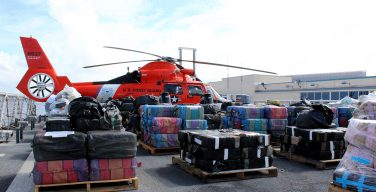US Coast Guard Cutter Offloads 13 Metric Tons of Drugs