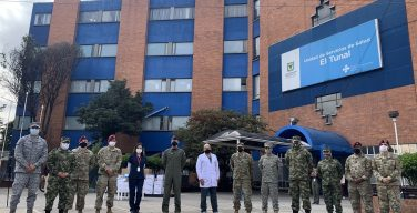 US Embassy in Colombia Donates Medical Supplies to Bogotá Hospital to Support Medical Staff Responding to the COVID-19 Pandemic