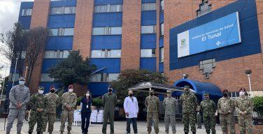 Embaixada dos EUA doa material médico a hospital em Bogotá para apoiar as equipes de saúde que atendem a pandemia da COVID-19