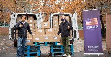 Estados Unidos doam dois hospitais de campanha ao Chile para lutar contra a pandemia da COVID-19