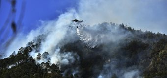 Honduran Service Members Fight Forest Fires that Afflict the Country
