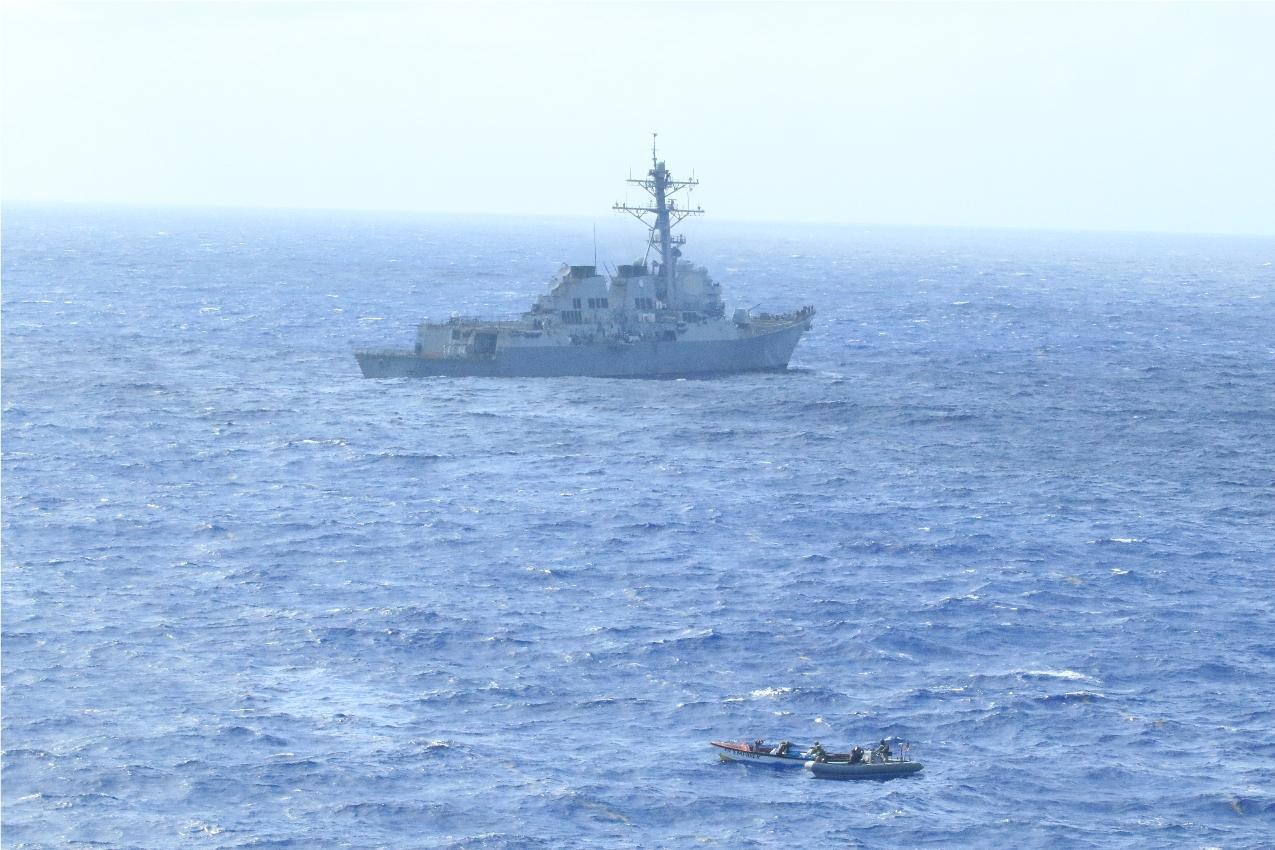 US Navy – Coast Guard Team: 4 Interdictions in 4 Days