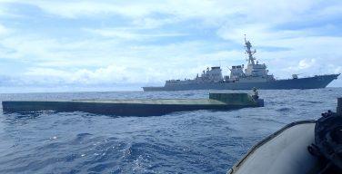 El USS Preble incauta 2000 kilogramos de cocaína
