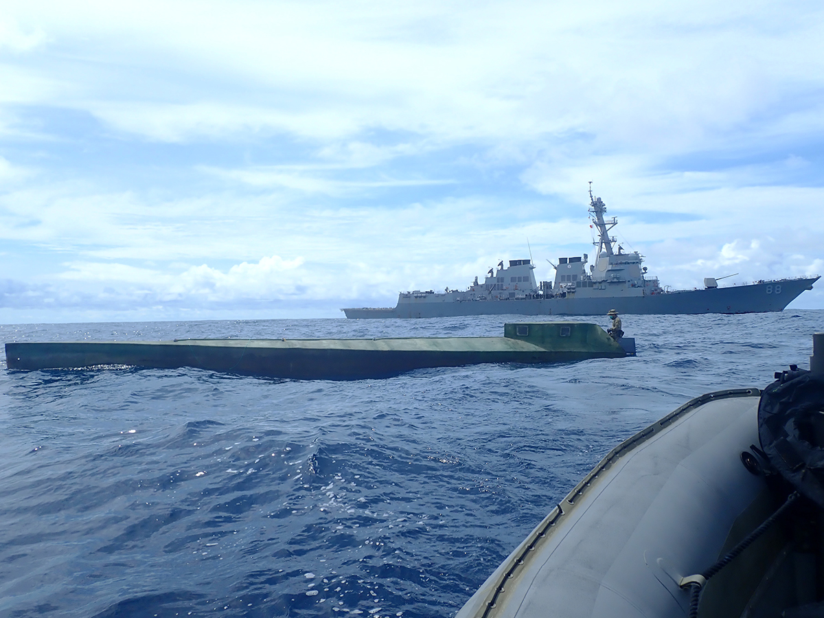 USS Preble Interdicts 2,000 Kilograms of Cocaine